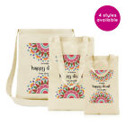 PERSONALISED GIFT TOTE BAG HAPPY DIWALI HOLIDAY SHOPPING INDIAN FESTIVAL