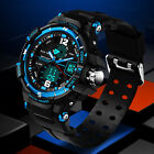 Waterproof Men Digital Sports Military Date Analog Quartz Wrist Watch Unique