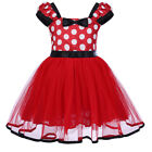 baby girl minnie mouse costume - Toddler Baby Girl Minnie Mouse Bow Dots Dress Tutu Skirt Christmas Party Costume