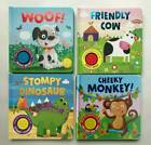 Sound Books Baby/kids Head shoulder/incy wincy/hickory dickory/old McD/train/Twi