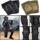 Military Tactical Airsoft Knee Combat Protective Gear Knee Pad Pads Black/Tan