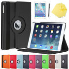 360 Rotating Magnetic PU Leather Cover Case For Apple iPad 2/3/4 mini 1/2/3
