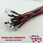 12v 5MM LED Diode Light 20cm Cable Line Wire 5mm Emitting Sign Light Clear