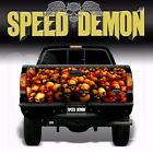 "Skull ""Red"" Tailgate Truck Wrap Kit Vinyl Graphic Decal Sticker 4x4 Tailgate"
