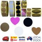 Round/Heart/ Kraft/ Black /White/ Pink/ Gold Coloured Oval Sticker Sticky Labels
