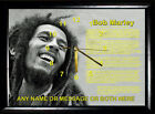 Bob Marley Frame Picture Clock Not Cd Clock Choice of 8 Gift Birthday Xmas,Music