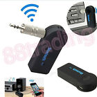 Wireless Bluetooth Audio Receiver Adapter To Connect 3.5mm AUX Car Stereo System