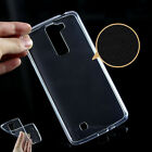 Fashion Shockproof Ultra Thin Clear Rubber Silicone Soft TPU Case Cover For LG