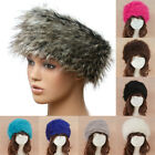 New Ladies Faux Fur Cossack Thick Winter Warm Hat 10 Colours Headbands Luxury