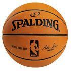 NEW Spalding Official NBA Leather Indoor Basketball   from Rebel Sport