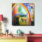 Rainbow Stretched Canvas Print Framed Wall Art Decor Painting Gift Homeware Deco