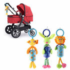 New Baby Toys Crib Stroller Plush Cartoon Hanging Baby Rattle Ring Bell F7