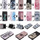 For Huawei LG Moto Sony Phone Strap Wallet Card Holder Leather Case Cover KT