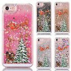 Luxury Glitter Star Christmas Liquid Phone Case Cover for Verious Cell Phones