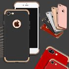 Ultra-slim Premium Full Body Case & Tempered Glass Cover For iPhone 7 / 8 / Plus