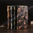 iPhone 7 iPhone 7 Plus Cool Skull Pattern PU Leather Wallet Stand Case