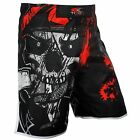MMA Fight Shorts UFC Pro Grappling Short Kick Boxing Muay Thai Cage Gel Pants