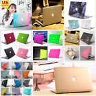 """Marble Silk Leather Quicksand Matte Case for MacBook 12"""" Air Pro 11"""" 13""""15"""""""