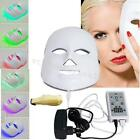 7 Color LED Light Lamp Photon Facial Mask Skin Care Therapy Anti-Wrinkles USA