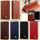 Luxury Flip Magnetic Leather Stand Holder Wallet Case Clip Slot Cover For Phones