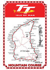 I.O.M TT Map Sign. Tin sign Tin Plaque. great for Man-Caves Bedrooms etc