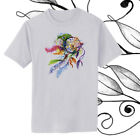 Dreamcatcher with Feathers Watercolor Art T-shirt Youth - Adult