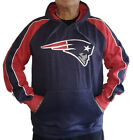 New England Patriots Merciless Hoodie Fleece Sweatshirt by Old Time Football