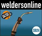 UNI-MIG SB24 Binzel Style Welding Torch Euro Connect (variety of cable lengths)