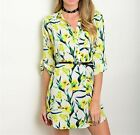 New Women Summer Casual Long Sleeve Evening Party Cocktail Short Mini Dress