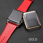 For Apple Watch Series 2 38/42mm Full Body Snap On Metal Case+Screen Protector