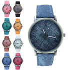 Fashion Women's Watch Roman Numerals Leather Analog Quartz Wrist Watches New