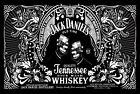 Jack Daniels Old Time Sour Mash  ' Tin Sign Plaque. great for Bar's Man Caves