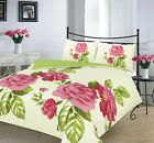 ISABELLA Floral duvet cover set bedding double king single poly cotton Gift