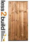 Wooden Garden Side Gate Featheredge Gate Heavy Duty Free Hardware -Select Size