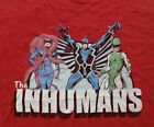 Marvel Inhumans Royal Characters Womens Top Shirt L - XL
