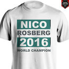 NICO ROSBERG 2016 WORLD CHAMPION MERCEDES F1 FORMULA 1 short and long sleeve