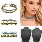 1 Piece Hot Women Chain Statement Chunky Carved Collar Jewelry Short Necklace