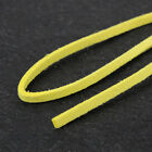 3M Genuine Leather Cord Suede String Thread Flat Nacklace Jewelry Finding Making