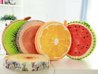 Fruit Pattern Floor Pillows Cover  Round Seat Cushion Cover Case Home Decor