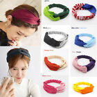 Fashion Women Sport Yoga Headband Corss Hairband elastic stretch Headwrap Turban