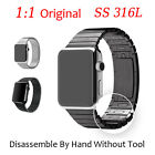 Original 316L 1:1 Stainless Bracelet Watch Strap Band For Apple iWatch Christmas