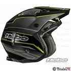 HEBO ZONE-4 EXTREME TRIALS HELMET-YELLOW- £45 OFF SPECIAL OFFER
