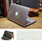 "3in1 Clear Crystal Plastic Hard Case Cover for MacBook 12"" Air/ Pro 11"" 13"" 15"""