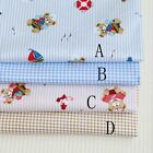 50cm*160CM Cute Bear 100%cotton fabric Quilting  Clothes Bedding Sewing 05