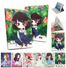 Lovely Cartoon Girl Leather Smart Stand Cover Case For iPad 2/3/4/ mini / Air 2