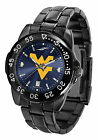 West Virginia Mountaineers Fantom Watch Gunmetal Finish Ladies or Mens