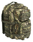 MIL-TEC BACKPACK US ASSAULT LARGE PACK ARMY MOLLE RUCKSACK 36 LITRE MANDRA WOOD