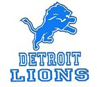 Detroit Lions Football Logo Vinyl Decal Sticker 77104z $9.0 USD on eBay
