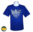 Mlb Youth Apparel - Seattle Mariners Youth Retro Mlb SS Team Crew Tee Shirt, NWT