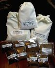 4 Smoked Salts Gift Bag Apple Hickory Cherry Alderwood Fine Grain Kosher gourmet